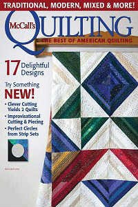 McCall's Quilting Vol.23 №2 2016