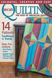 McCall's Quilting Vol.23 №3 2016