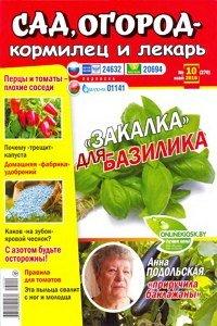 Сад огород кормилец и лекарь №10 2016