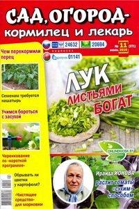 Сад огород кормилец и лекарь №11 2016