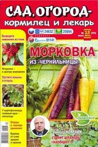 Сад огород кормилец и лекарь №13 2016